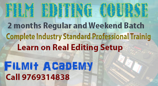 Film Editing Course