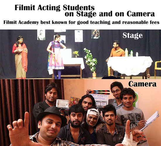 Stage and camera acting